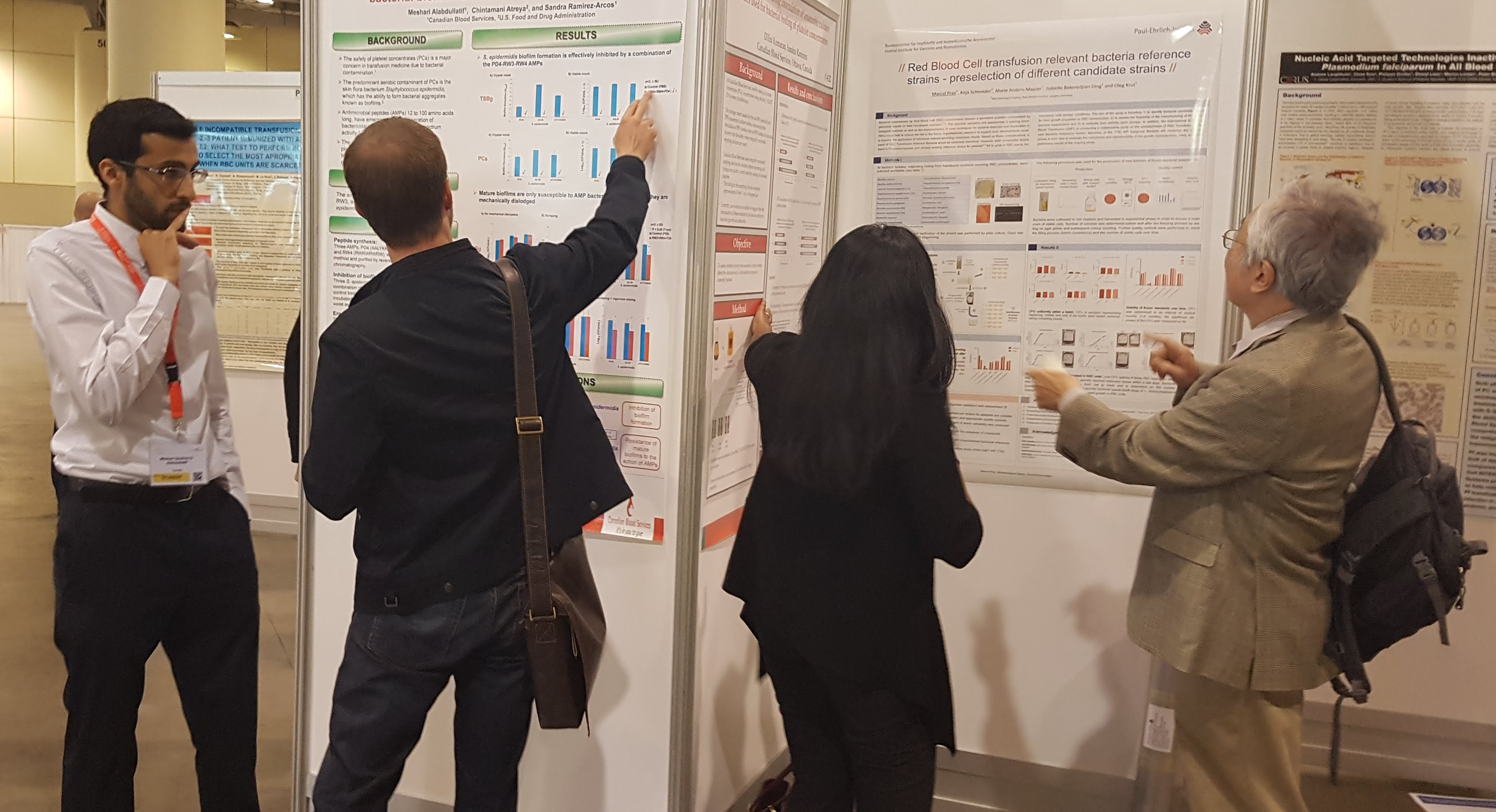 poster session ISBT