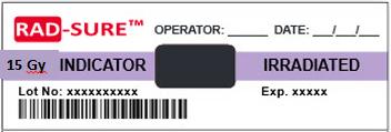 RADSURE Label