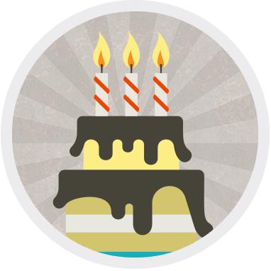 Petit gâteau d'anniversaire