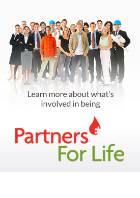 Learn more about what's involved in being a Partner for Life - Download Brochure