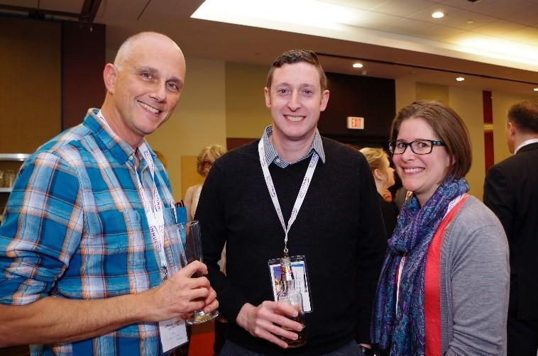 Left to right: Drs. William Sheffield, Jeff Keirnan, and Mia Golder. Photo credit: CSTM 2017 photo gallery.