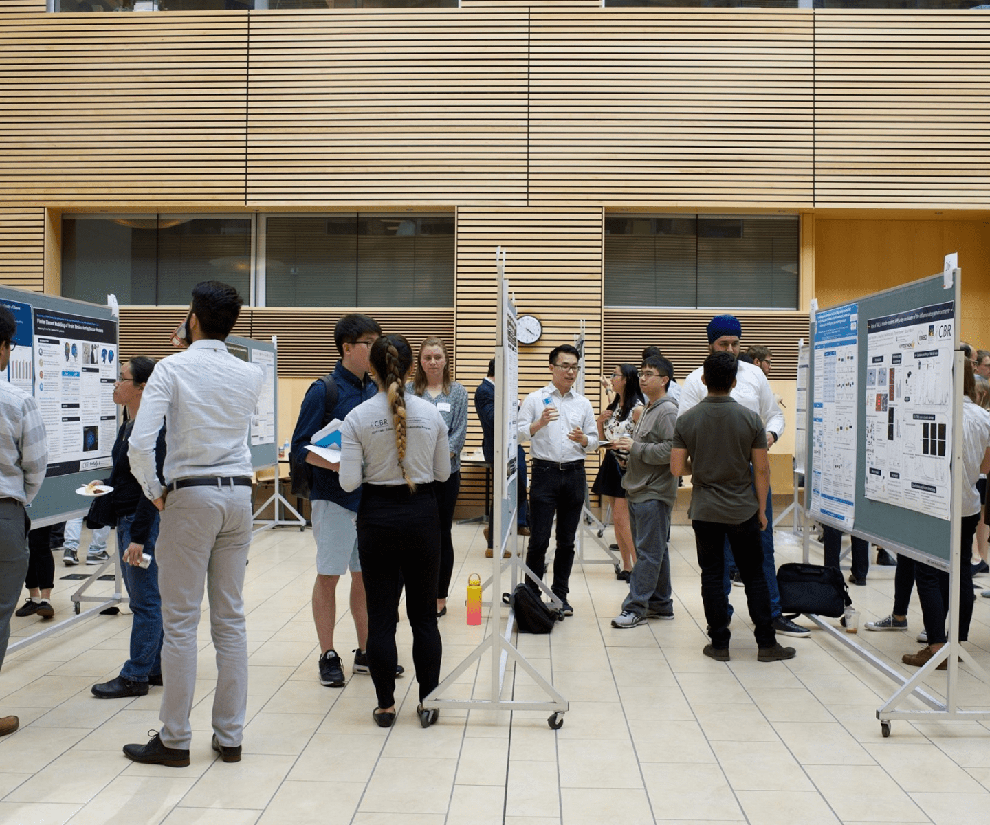 3.	Poster session at the CBR Research Day 2019
